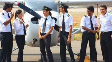 Is pilot training expensive for Indian students?